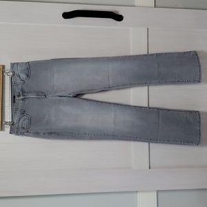 NJDJ gray straight leg jeans sz 10 tall